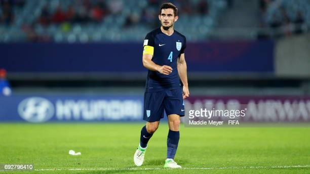 Lewis Cook of England looks on during the FIFA U20 World Cup Korea Republic 2017 Quarter Final match between Mexico and England at Cheonan Baekseok...
