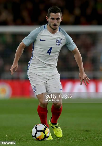 Lewis Cook of England U21 during the UEFA European Under 21 Championship Group 4 Qualifier between England and Scotland at Riverside Stadium on...