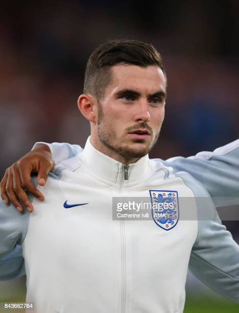 Lewis Cook of England U21 during the UEFA Under 21 Championship Qualifier match between England and Latvia at Vitality Stadium on September 5 2017 in...