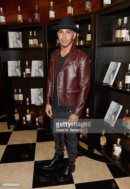 Lewis Hamilton arrives at the London launch of Casamigos Tequila and Cindy Crawford's book 'Becoming' hosted by Rande Gerber George Clooney and...