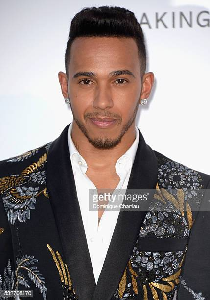 Lewis Hamilton attends the amfAR's 23rd Cinema Against AIDS Gala at Hotel du CapEdenRoc on May 19 2016 in Cap d'Antibes France