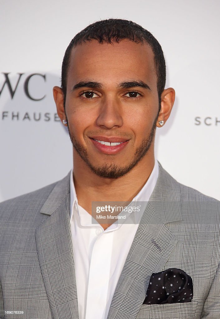 Lewis Hamilton attends the IWC FilmMakers dinner during The 66th Annual Cannes Film Festival on May 19, 2013 in Cannes, France.