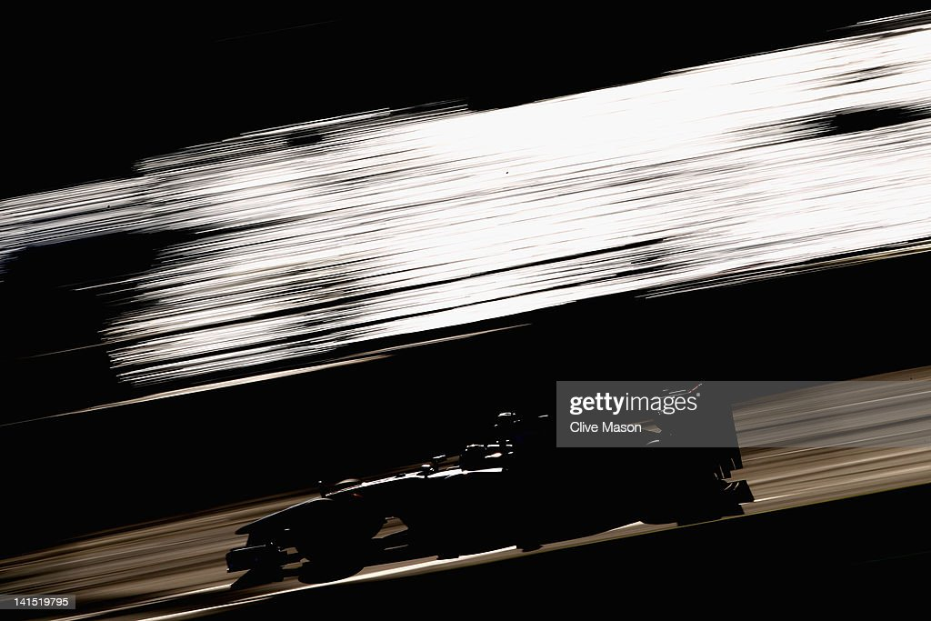 Lewis Hamilton of Great Britain and McLaren drives during the Australian Formula One Grand Prix at the Albert Park circuit on March 18, 2012 in Melbourne, Australia.