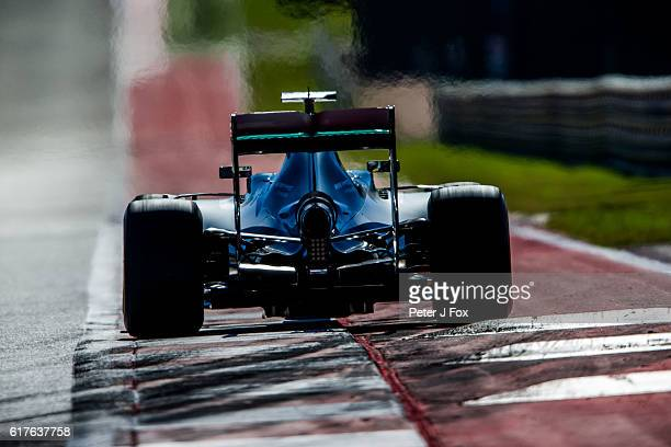 Lewis Hamilton of Great Britain and Mercedes during the United States Formula One Grand Prix at Circuit of The Americas on October 23 2016 in Austin...