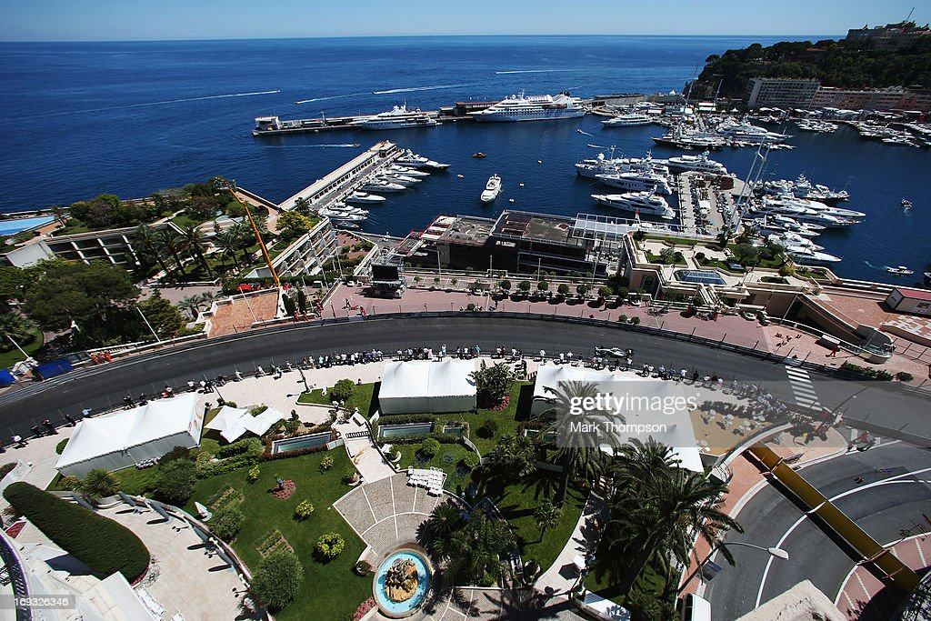 Lewis Hamilton of Great Britain and Mercedes GP drives during practice for the Monaco Formula One Grand Prix at the Circuit de Monaco on May 23, 2013 in Monte-Carlo, Monaco.