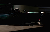 Lewis Hamilton of Great Britain and Mercedes GP drives during the Formula One Grand Prix of Japan at Suzuka Circuit on September 27 2015 in Suzuka...