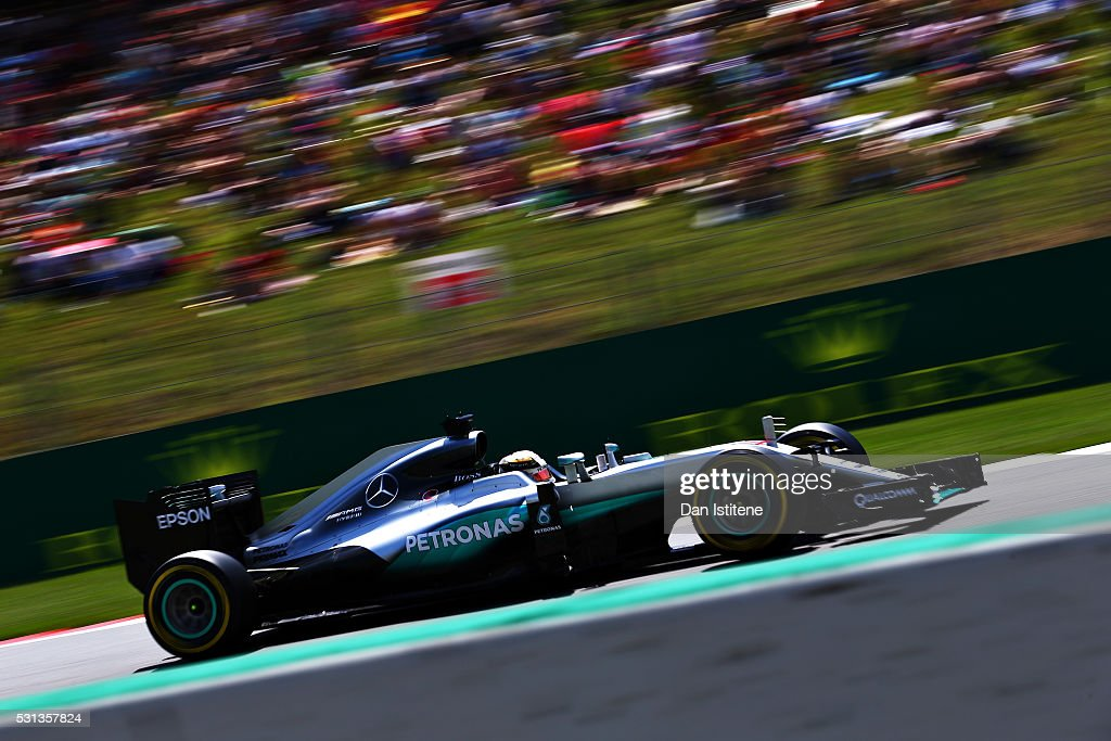 Spanish F1 Grand Prix - Qualifying : News Photo