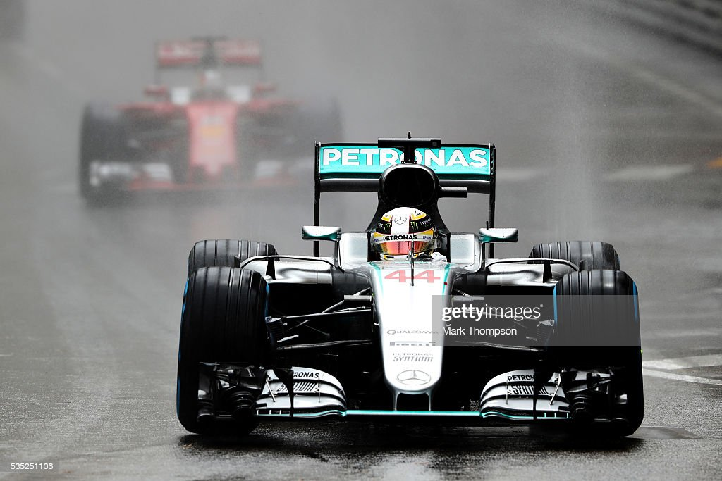 <a gi-track='captionPersonalityLinkClicked' href=/galleries/search?phrase=Lewis+Hamilton+-+Racecar+Driver&family=editorial&specificpeople=586983 ng-click='$event.stopPropagation()'>Lewis Hamilton</a> of Great Britain driving the (44) Mercedes AMG Petronas F1 Team Mercedes F1 WO7 Mercedes PU106C Hybrid turbo on track during the Monaco Formula One Grand Prix at Circuit de Monaco on May 29, 2016 in Monte-Carlo, Monaco.