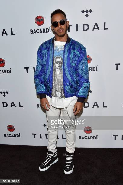 Lewis Hamiltonattends TIDAL X Brooklyn at Barclays Center of Brooklyn on October 17 2017 in New York City