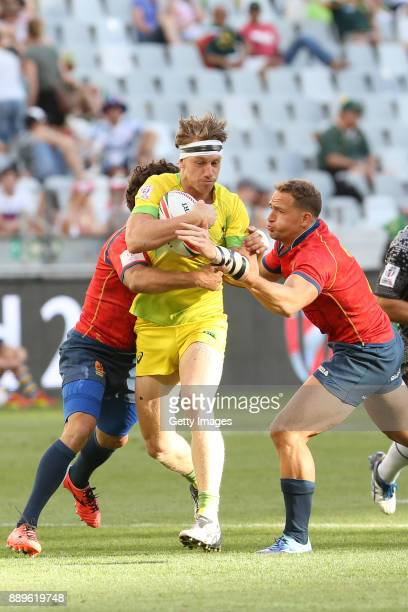 Lewis Holland during day 2 of the 2017 HSBC Cape Town Sevens at Cape Town Stadium on December 10 2017 in Cape Town South Africa