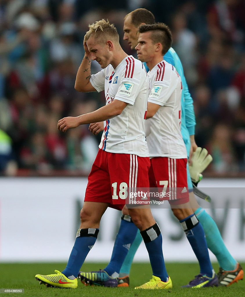 Hannover 96 v Hamburger SV Bundesliga s and