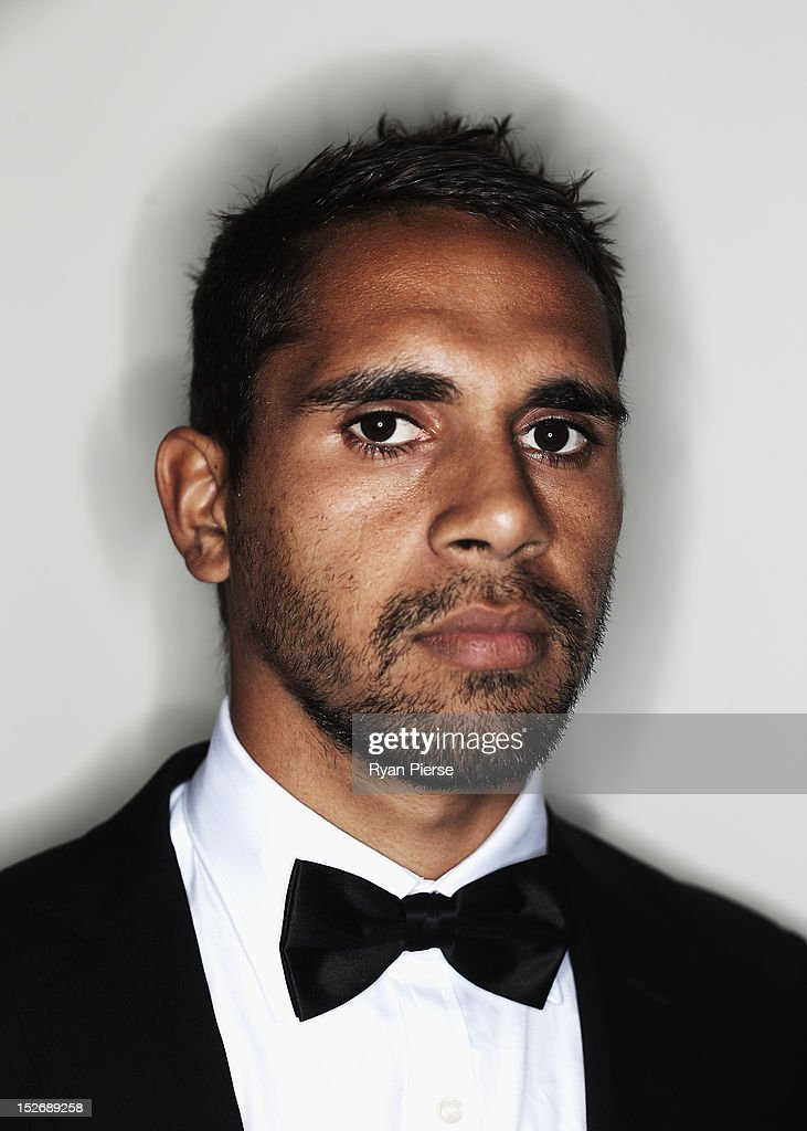 Lewis Jetta of the Swans poses during the Sydney Swans AFL Brownlow Medal function at Sydney Cricket Ground on September 24, 2012 in Sydney, Australia.