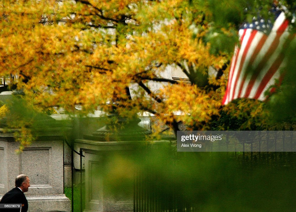 I Lewis Libby Jr Vice President Dick Cheney's chief of staff walks from the West Wing of the White House to the Eisenhower Executive Office Building...