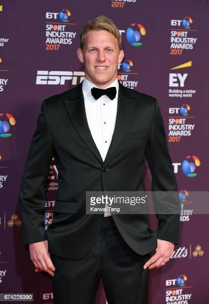Lewis Moody attends the BT Sport Industry Awards at Battersea Evolution on April 27 2017 in London England