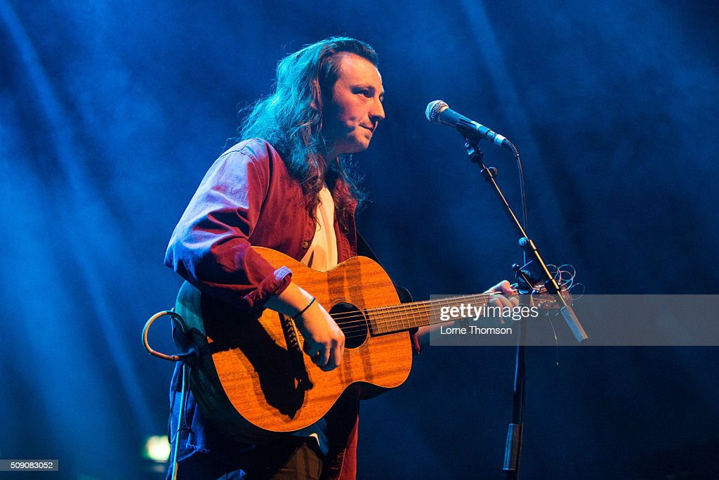 Lewis Watson performs at O2 Forum Kentish Town on February 8, 2016 in London, England.