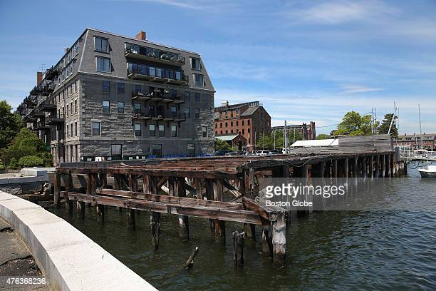 Lewis Wharf is now mostly a parking lot But a proposal to redevelop the site in the North End includes a hotel a pubic park area and a new home for...