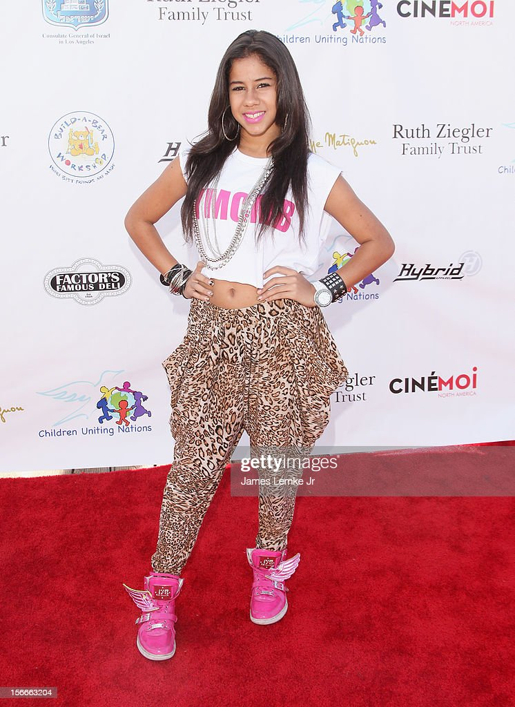 Lex Lane attends the Children Uniting Nations' Day of The Child Fundraiser held at the Santa Monica Pier on November 18, 2012 in Santa Monica, California.