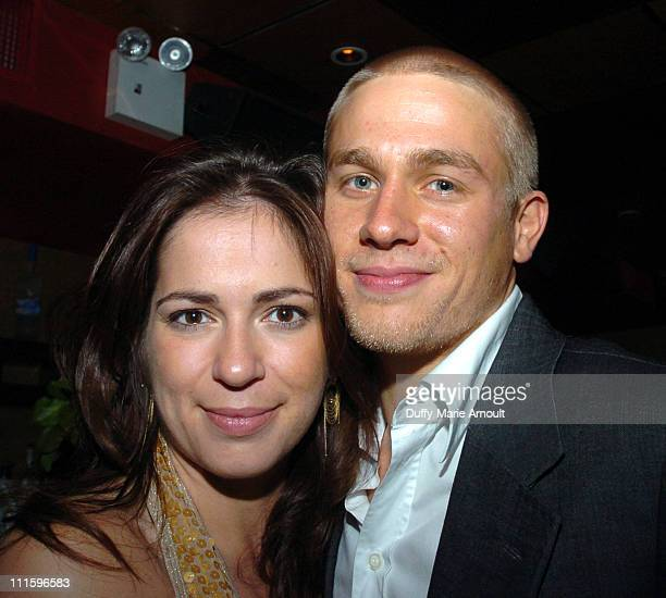 Lexi Alexander director and Charlie Hunnam during 'Green Street Hooligans' New York City Premiere After Party at Marquee in New York City New York...
