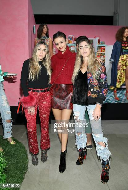 Lexi Caplan Victoria Justice and Allie Caplan attends Alice Olivia By Stacey Bendet fashion show during New York Fashion Week at Gallery 2 Skylight...