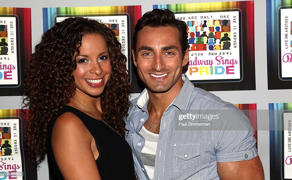 Lexi Lawson and Scott Nevins attend Broadway Sings For Pride NYC 2013 Benefit at Iguana on June 24, 2013 in New York City.