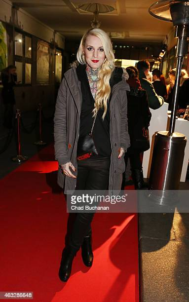 Lexy Hell attends the 99Fire Film Awards during the 65th Berlinale International Film Festival at Admiralspalast on February 12 2015 in Berlin Germany