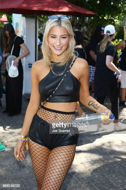 Lexy Panterra attends the KALEIDOSCOPE REFRESH presented by Cannabinoid Water on April 16 2017 in La Quinta California