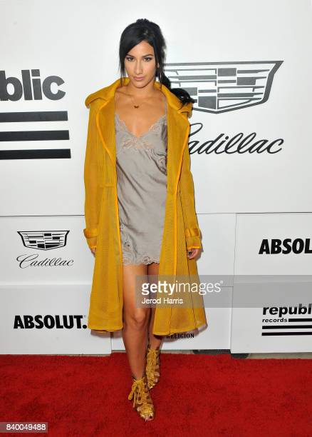 Lexy Panterra attends the VMA after party hosted by Republic Records and Cadillac at TAO restaurant at the Dream Hotel on August 27 2017 in Los...