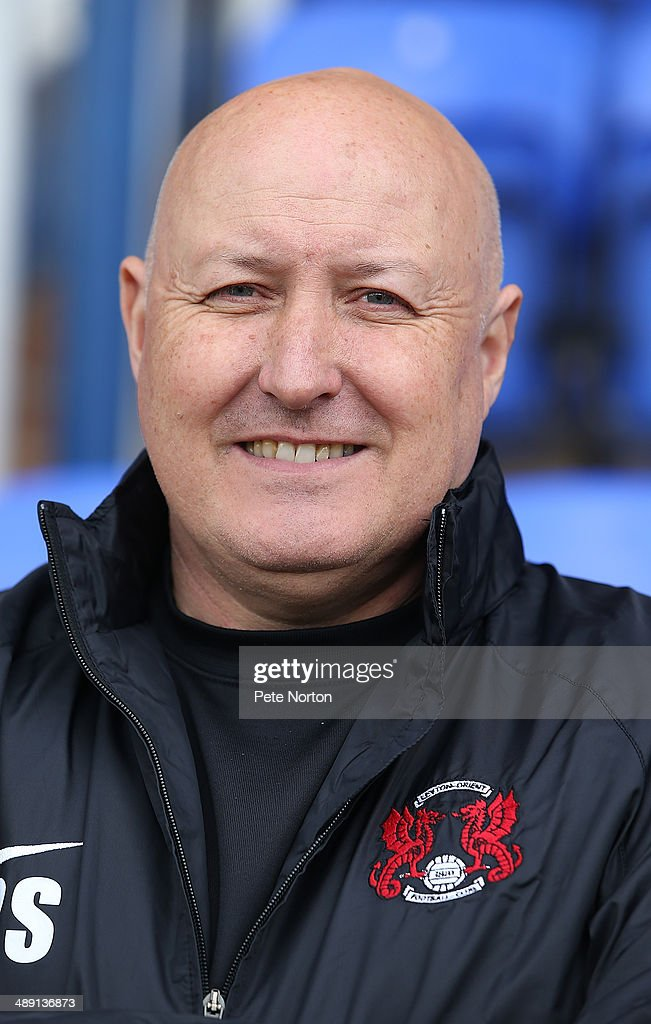 Leyton Orient manager <a gi-track='captionPersonalityLinkClicked' href=/galleries/search?phrase=Russell+Slade&family=editorial&specificpeople=741623 ng-click='$event.stopPropagation()'>Russell Slade</a> looks on prior to the Sky Bet League One Semi Final First Leg between Peterborough United and Leyton Orient at London Road Stadium on May 10, 2014 in Peterborough, England.
