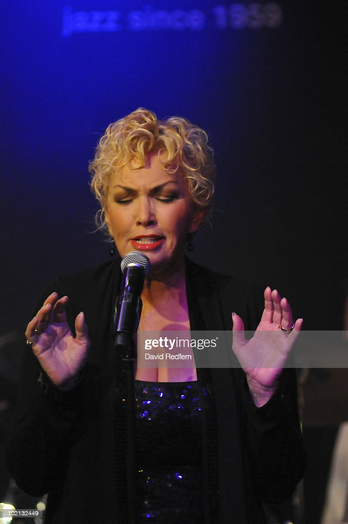 Lezlie Anders performs on stage at Ronnie Scott's Jazz Club on June 14, 2010 in London, England.
