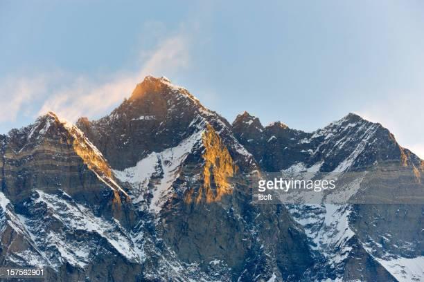 ローツェます。エベレスト回路。ネパール動機です。
