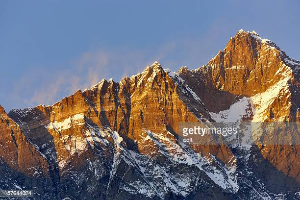 Lhotse. Everest circuito. Nepal motivos