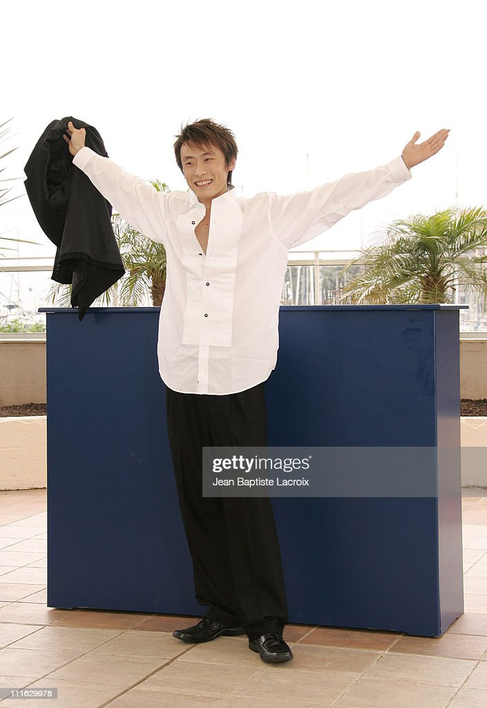 <a gi-track='captionPersonalityLinkClicked' href=/galleries/search?phrase=Li+Bin&family=editorial&specificpeople=227305 ng-click='$event.stopPropagation()'>Li Bin</a> during 2005 Cannes Film Festival - 'Shanghai Dreams' Photocall in Cannes, France.