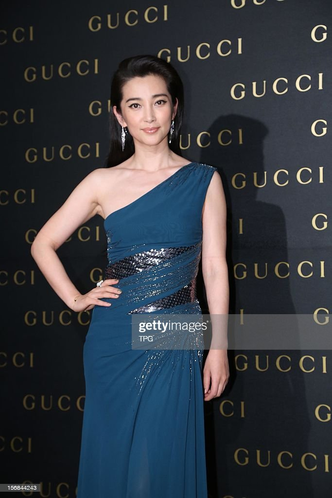 Li Bingbing attended Gucci party activity on Thursday November 22, 2012 in Taipei, Taiwan, China.