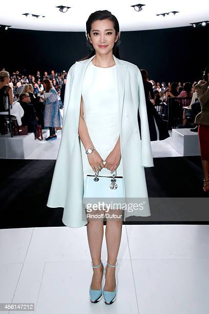 Li Bingbing attends the Christian Dior show as part of the Paris Fashion Week Womenswear Spring/Summer 2015 on September 26 2014 in Paris France