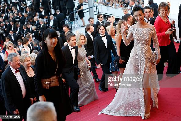 Li Bingbing attends the Premiere of 'Carol' during the 68th annual Cannes Film Festival on May 17 2015 in Cannes France