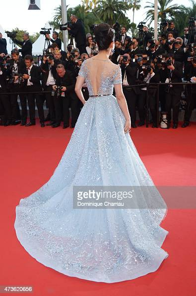 Li Bingbing attends 'The Sea Of Trees' Premiere during the 68th annual Cannes Film Festival on May 16 2015 in Cannes France