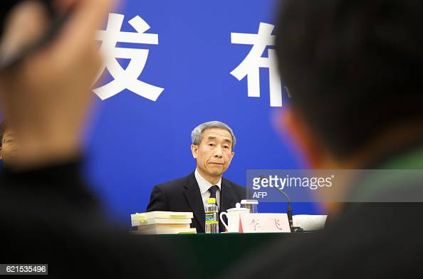 Li Fei deputy secretary general of Chinas National Peoples Congress Standing Committee and director of Hong Kong Basic Law Committee of the NPC...