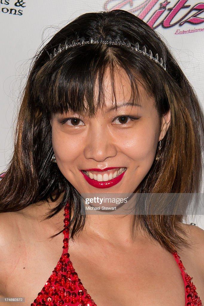 Li Jing attends Johnny Weir & Victor Weir-Voronov's Birthday Celebration at Soho Grand Hotel on July 27, 2013 in New York City.