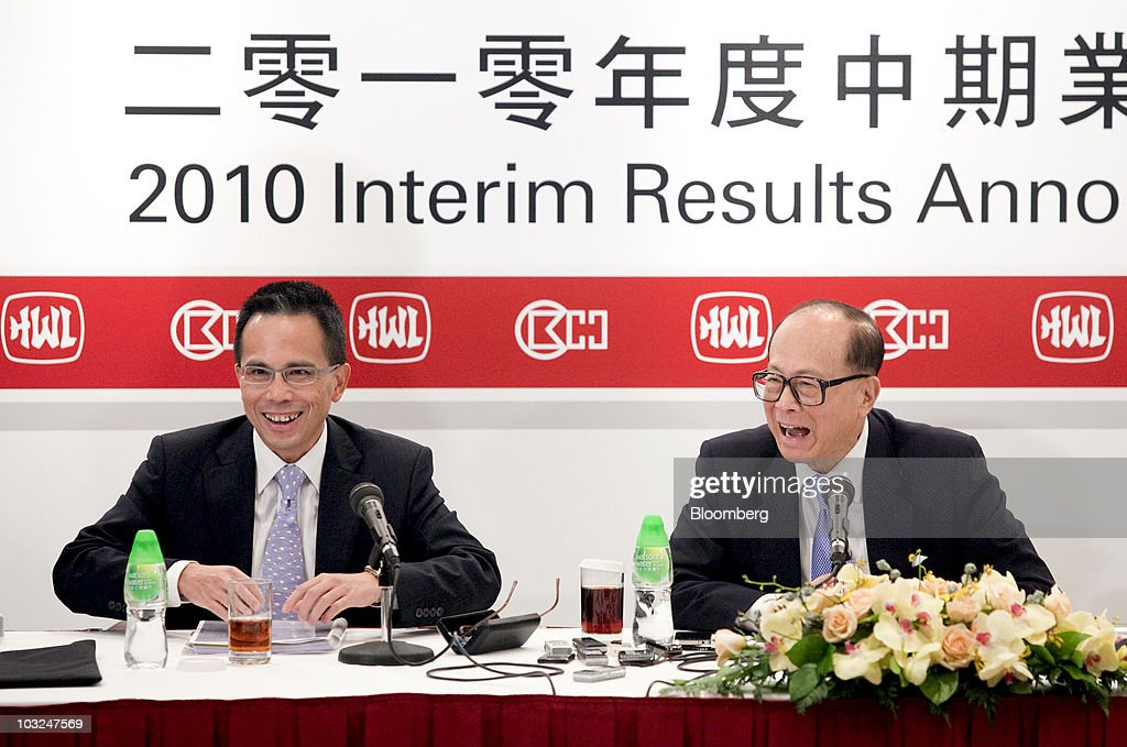 Cheung Kong Holdings Interim Results News Conference