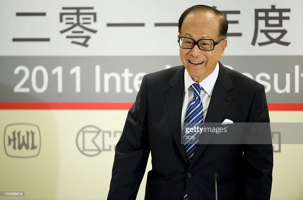 Cheung Kong And Hutchison Whampoa Announce 2011 Interim Results