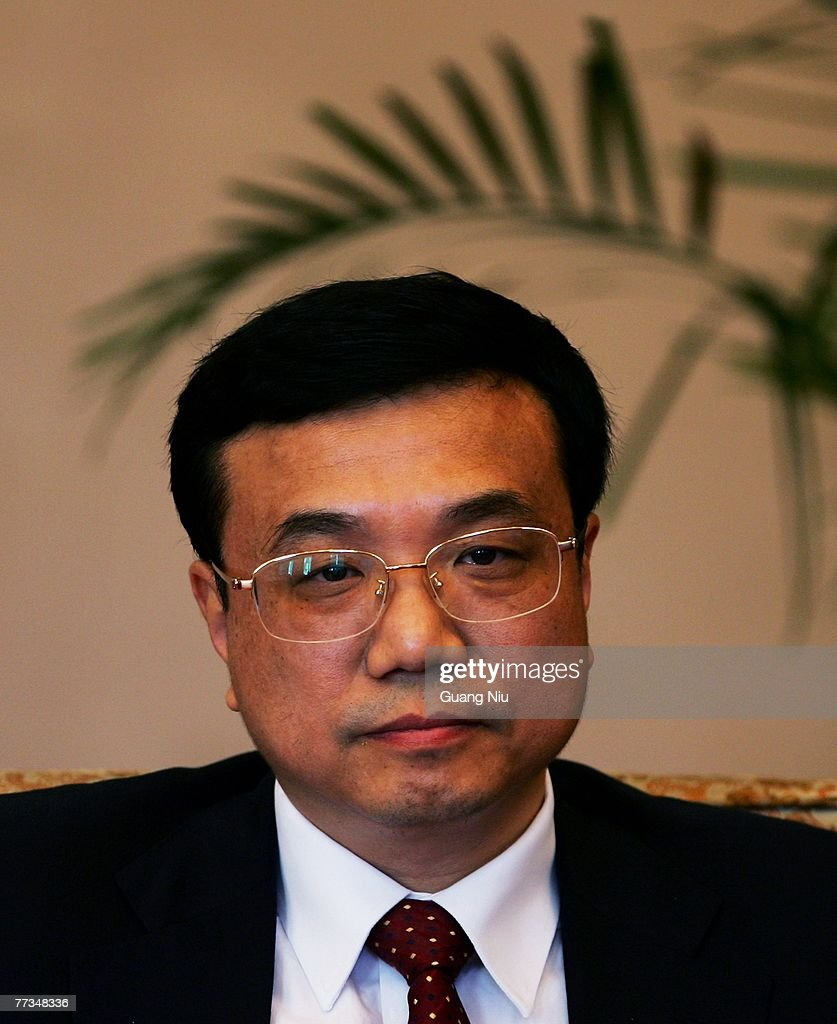 Li Keqiang, Communist Party secretary of China's Liaoning province, attends a group discussion at the second day of the five-yearly Chinese Communist Party Congress at the Great Hall of the People on October 16, 2007 in Beijing, China. The congress, which is held from October 15 to 21, will promote younger leaders and likely successors to President Hu Jintao and Premier Wen Jiabao in five years time.