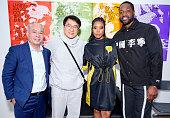 Li-Ning : Photocall - Paris Fashion Week - Menswear F/W...