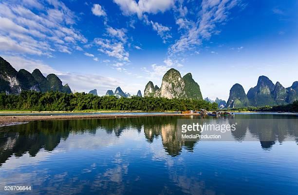 漓江の広西省、中国