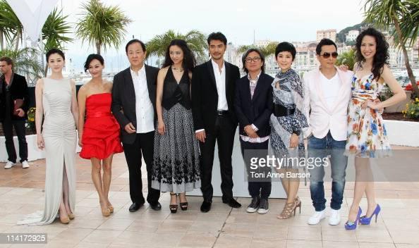 Li Xiao Ran Kara Hui Jimmy Wang Yu Tang Wei Takeshi Kaneshiro Peter Chan Sandra Ng Kwan Yu Donnie Yen and guest attend the 'Wu Xia' Photocall during...