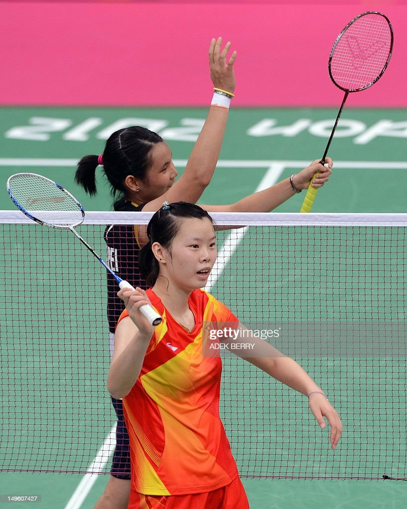 Li Xuerui of China and Tai Tzu Ying of T