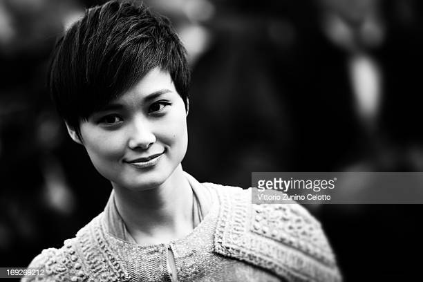 Li Yuchun attends the 'All Is Lost' Premiere during the 66th Annual Cannes Film Festival on May 22 2013 in Cannes France