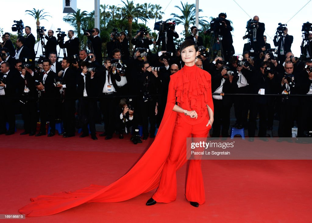 Li Yuchun attends the 'Cleopatra' premiere during The 66th Annual Cannes Film Festival at The 60th Anniversary Theatre on May 21, 2013 in Cannes, France.