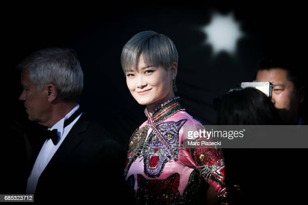 Li Yuchun is spotted during the 70th annual Cannes Film Festival at on May 19 2017 in Cannes France