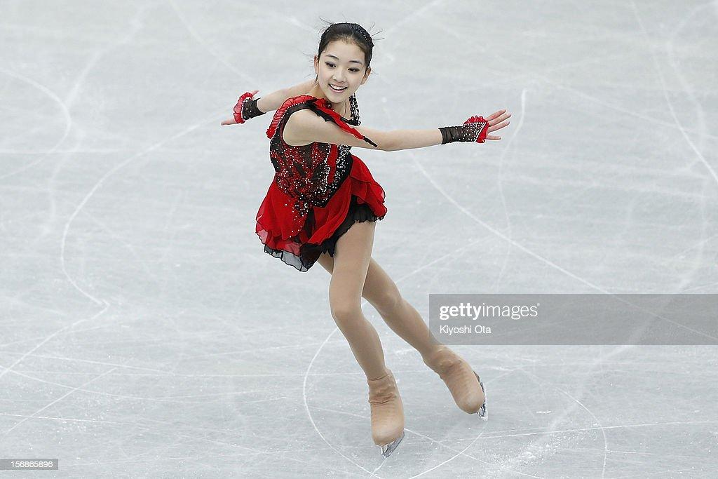 Li Zijun of China competes in the Ladies Short Program during day one of the ISU Grand Prix of Figure Skating NHK Trophy at Sekisui Heim Super Arena on November 23, 2012 in Rifu, Japan.
