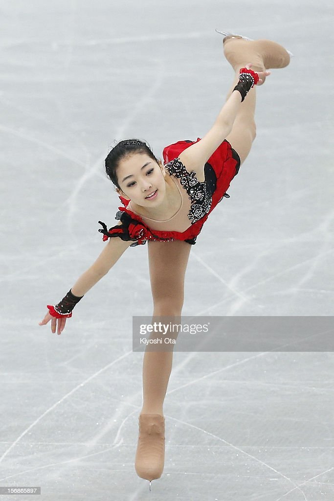 Li Zijun of China competes in the Ladies Short Program during day one of the ISU Grand Prix of Figure Skating NHK Trophy at Sekisui Heim Super Arena on November 23, 2012 in Rifu, Japan.